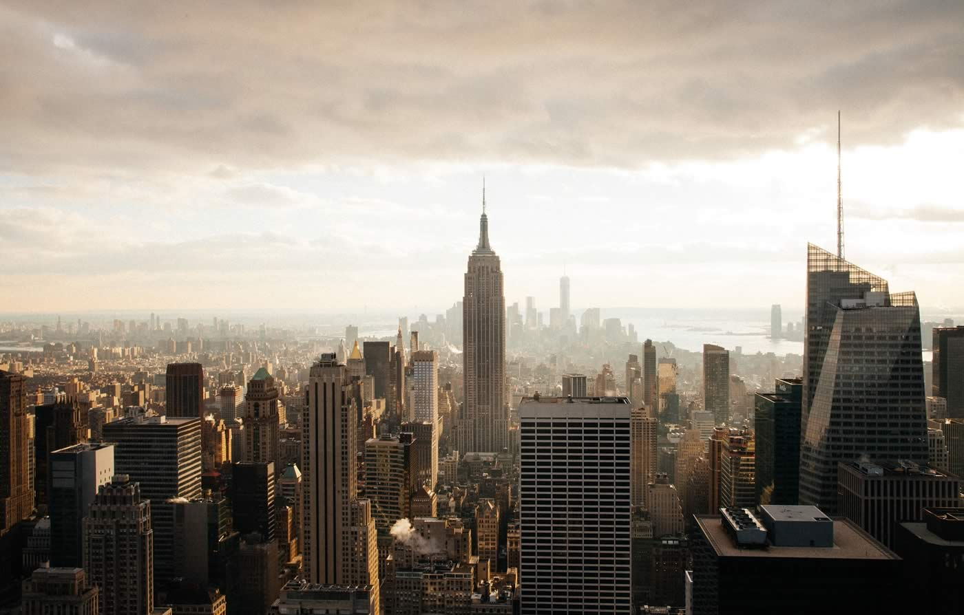 City scape of New York city