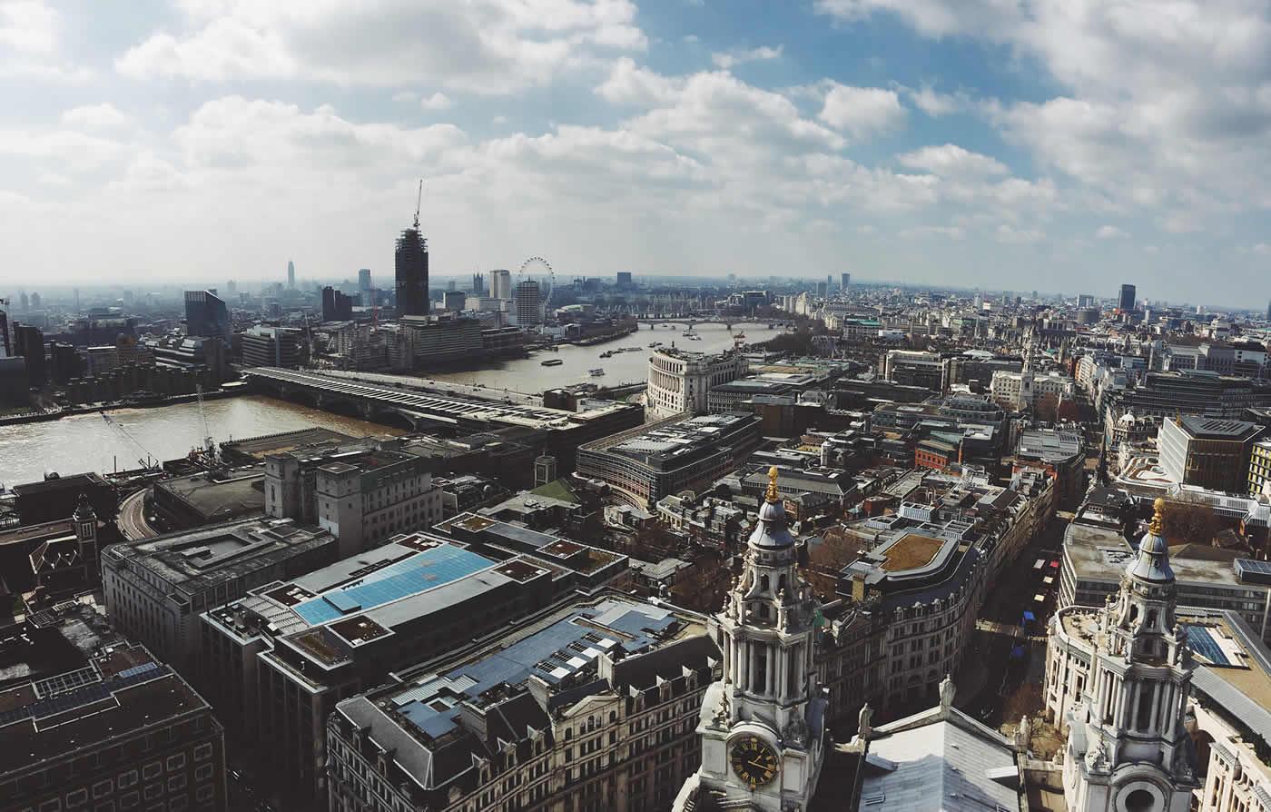 City scape of London, UK